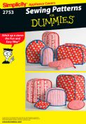 2753 Simplicity Pattern: Kitchen Accessories, Sewing for Dummies Collection